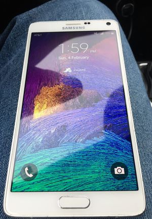 Factory Unlocked Samsung Galaxy Note 4 AT&T / T-Mobile / Any Sim world wide for Sale in Cleveland, OH