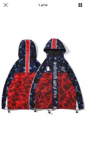 Bape A Bathing Ape Camo Hoodie Sweatshirt Windbreaker Jacket Coat for Sale in Beaverton, OR