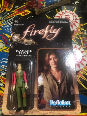 Firefly Kaylee Frye action figure moc for Sale in Eagle, WI