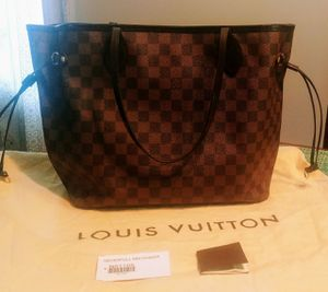 Louis Vuitton Damier MM Neverful for Sale in HOFFMAN EST, IL