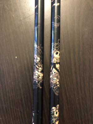New Jack Skellington Drum Sticks for Sale, used for sale  New Brunswick, NJ