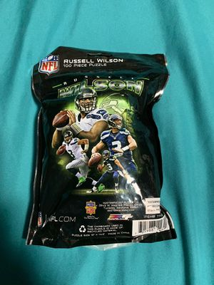 100 peace Russell Wilson puzzle set for Sale in South Hill, WA