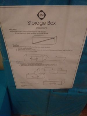 4 piece lot of Joy Mangano storage drawers for Sale in Columbus, OH