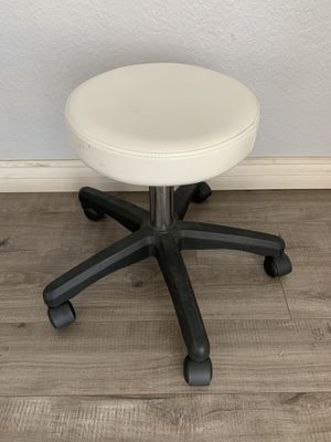 Adjustable height leather stool for Sale in Montebello, CA