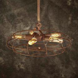Vintage Rustic Metal Fan Ceiling Lamp for Sale in Lexington,  KY