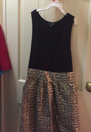 Dress with gold bottom for Sale in Alexandria, VA