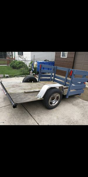 Reduced!!!!6x8 trailer No title $350 for Sale in Chicago, IL