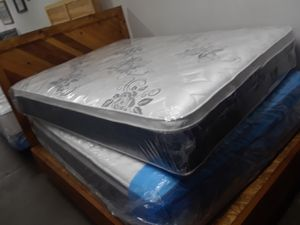 Jumbo PILLOW TOP MATTRESS TWIN FULL QUEEN CAL KING OR KING cali colchon cama bed for Sale in City of Industry, CA