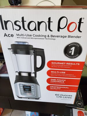 Instant Pot Ace Hot and Cold Blender for Sale in Bolingbrook, IL