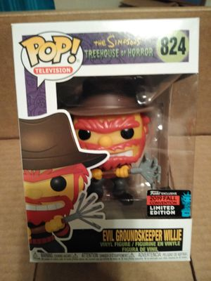 Evil Groundskeepers Willie Nycc Funko pop for Sale in Compton, CA