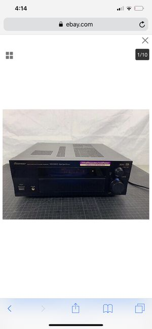 Pioneer receiver high end for Sale in Colorado Springs, CO