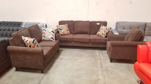 3pc Fabric Sofa Set. New in box for Sale in Chino Hills, CA