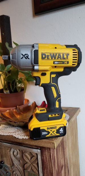 "Dewalt 20v XR 1/2"" impact wrench for Sale in San Jose, CA"