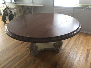 Habersham round wood breakfast table ( originally paid $11000 ) for Sale in Brooklyn, NY