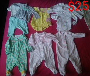 Baby girl clothes. for Sale in Takoma Park, MD