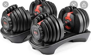 ISO/WTB Adjustable Dumbells and fitness equipment for Sale in Portland, OR