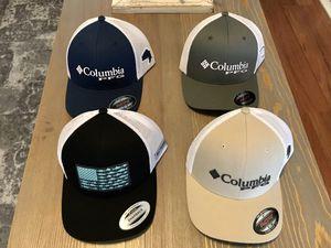 Columbia fishing hats for Sale in San Antonio, TX