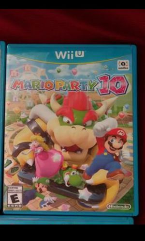 Mario party 10 nintendo wii u for Sale in HILLTOP MALL, CA