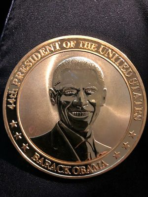 Barack Obama Commemorative Gold coin with presentation case for Sale in Fort Washington, MD