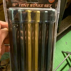 "Tent Stake Set 9 "" New for Sale in Costa Mesa, CA"