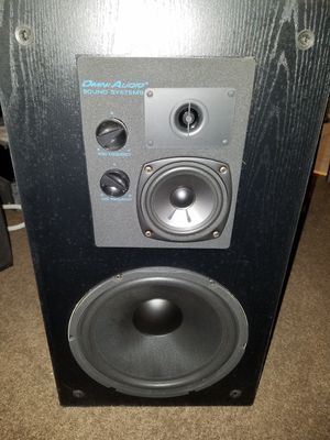 OMNI AUDIO SPEAKERS they Rock for Sale in Forest Heights, MD