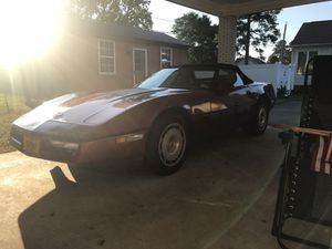 86 Chevy corvette convertible for Sale in Suffolk, VA