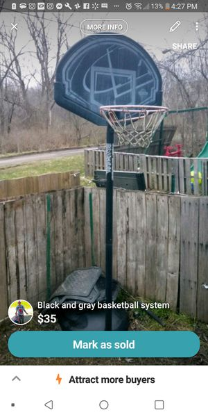 Basketball hoop for Sale in Girard, OH