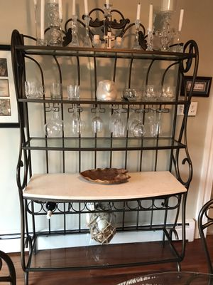 Elegant kitchen table and wine rack for Sale in Millersville, MD