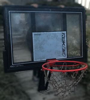 """RbkReebok Basketball Goal System Hoop In-Ground with a 48"""" Shatter for Sale in Laurel, MD"""