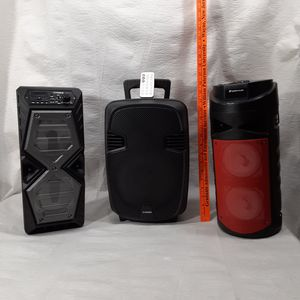 New portable rechargable Bluetooth Speakers for Sale in Pottsville, PA
