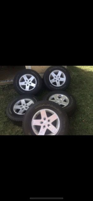 Jeep wheels for Sale in Woonsocket, RI