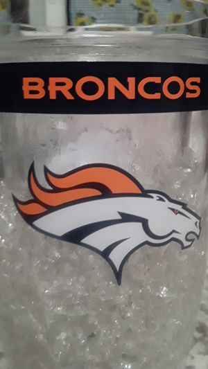 Broncos beer cup for Sale in Sunnyvale, CA