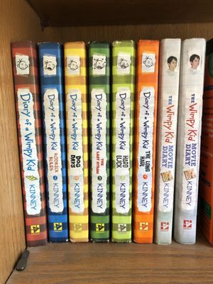 Diary of a whimpy kid book set for Sale in Vista, CA