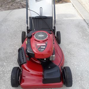 Craftsman lawn mower self propelled work like new $165 for Sale in Davenport, FL