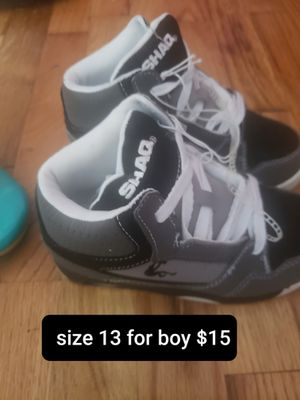Shoes for boy size 13 for Sale in Seattle, WA