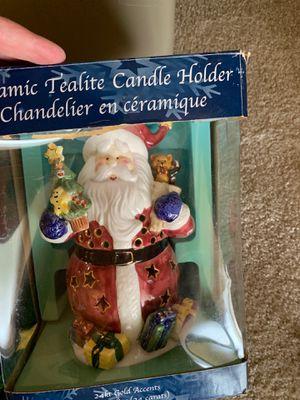 Santa Candle Holder for Sale in Brandon, FL