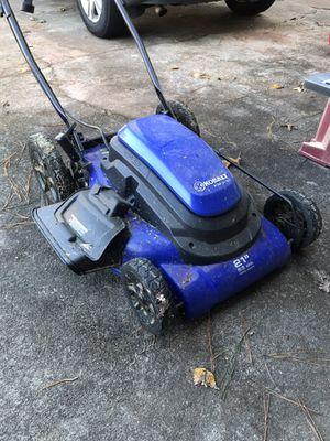 Kobalt electric corded lawn mower for Sale in West Palm Beach, FL
