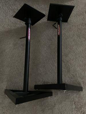 Jamstands Monitor Speaker Stands Adjustable - Like New for Sale in HOFFMAN EST, IL