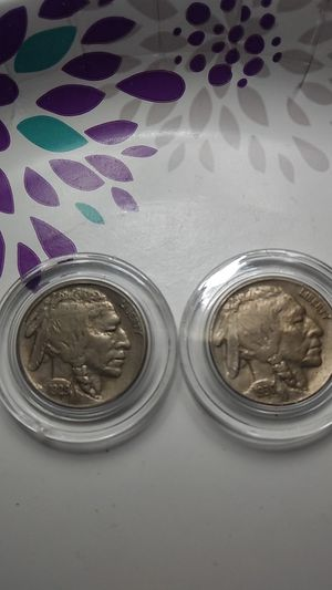 1929S&1930S BUFFALO NICKELS EF/AU CONDITION FULL HORNS for Sale in Port Richey, FL