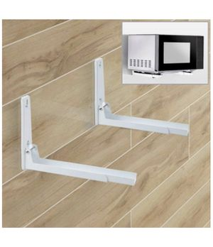 Agile-shop Foldable Stretch Shelf Rack Wall Mount Kitchen Microwave Oven Stand Bracket for Sale in Queens, NY