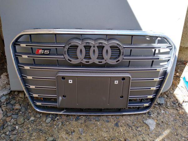 Audi S5 grill
