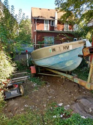 1971 boat and trailer for Sale in Indianapolis, IN
