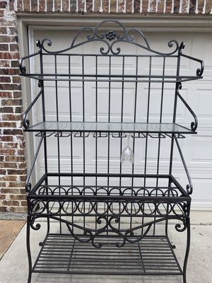 Bakers Rack - will deliver within 35 miles for Sale in Frisco, TX