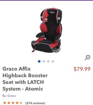 Booster car seat for Sale in Picayune, MS