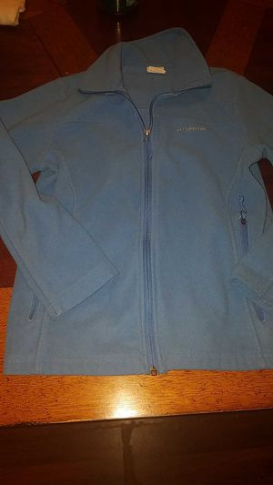 Girls Columbia zip up fleece size 14 for Sale in Waterford, PA