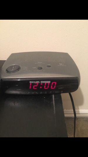 Radio Alarm clock for Sale in Houston, TX