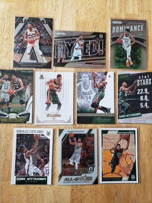 Giannis Antetokounmpo Milwaukee Bucks NBA basketball cards for Sale in Gresham, OR