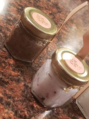 Sugar and epsom salt scrubs hand washes for Sale in Tampa, FL