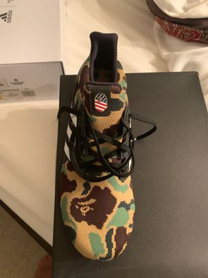 Bape ultra boost size 11 never worn for Sale in Timberlake, OH