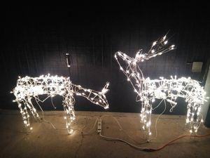 Deer for Christmas decor set of 2 for Sale in Garden Grove, CA
